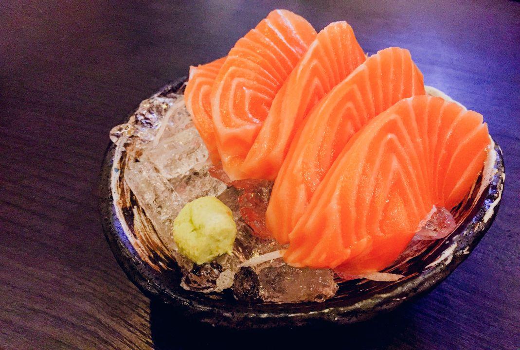 Sashimi (puur rauwe vis)