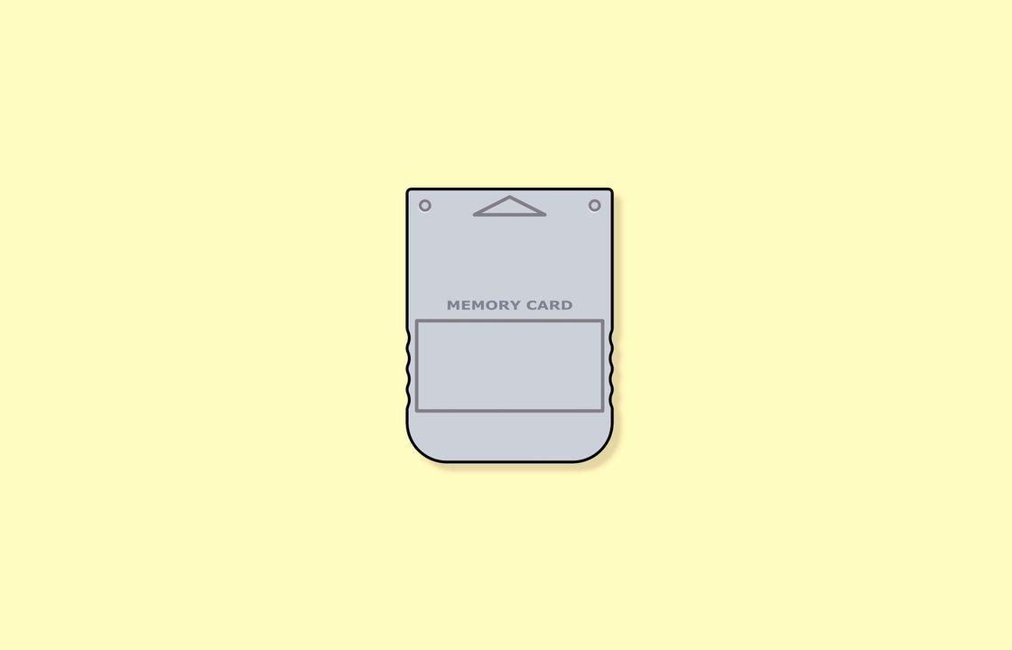 PlayStation geheugenkaart