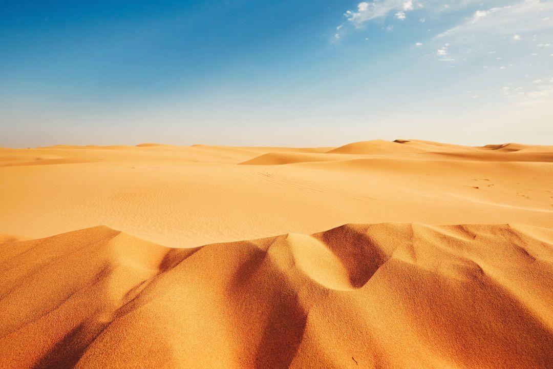 Vaak in de woestijn