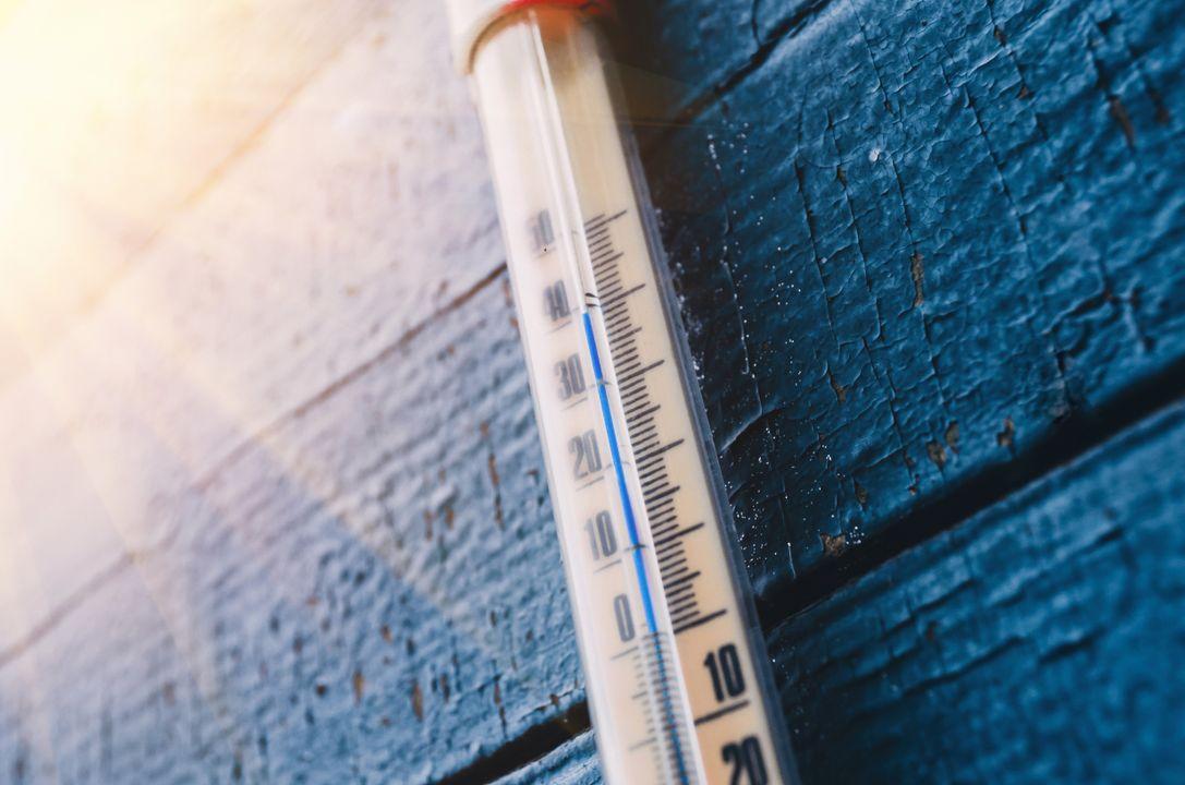 Bij grote temperatuurverschillen tussen luchtlagen