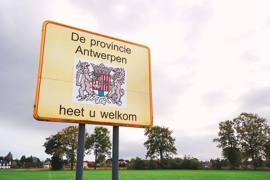 Ligt in de provincie Antwerpen