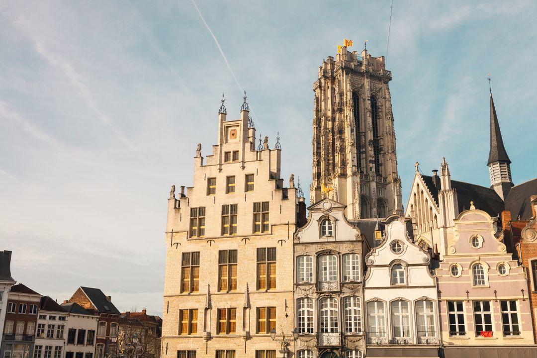 Grote Markt & Sint-Romboutskathedraal