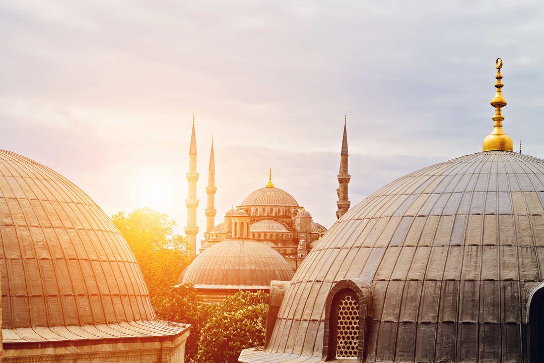 Blauwe Moskee & Hagia Sophia