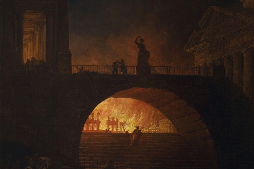 Hij was wellicht verantwoordelijk voor de Grote brand van Rome