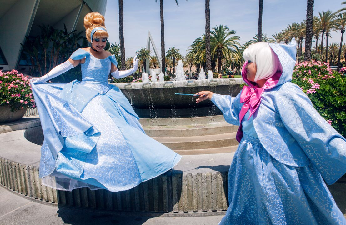 Assepoester cosplayers