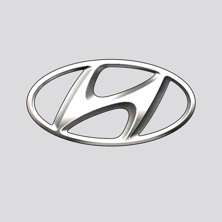 Logo van Hyundai