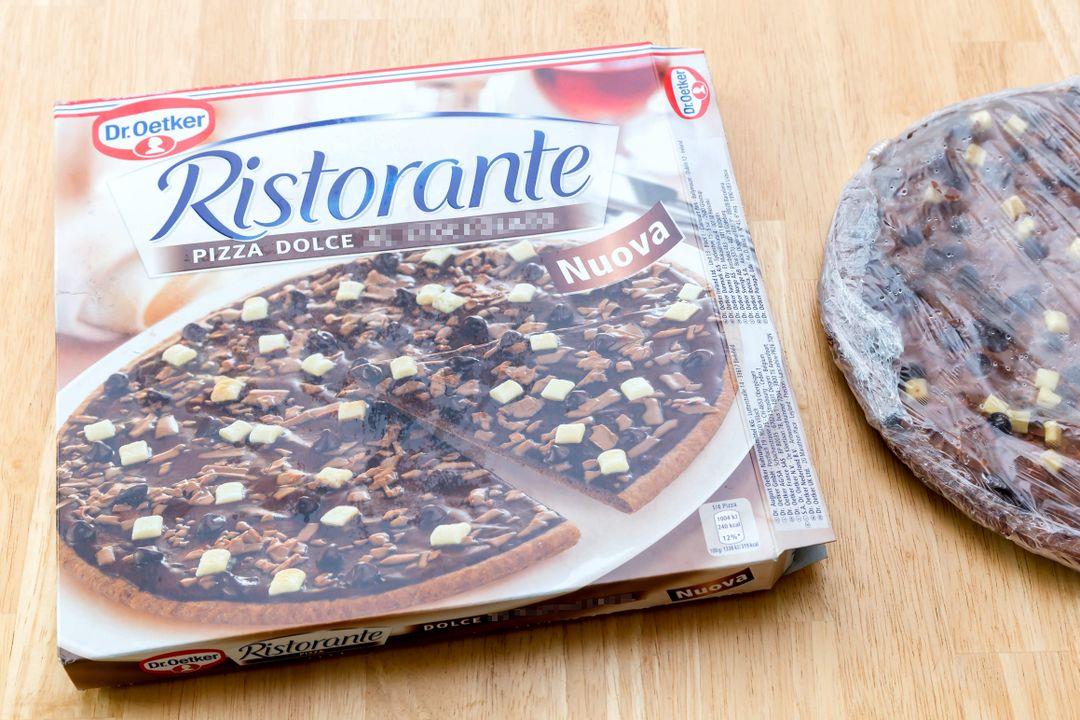 Pizza al Cioccolato (met chocolade)