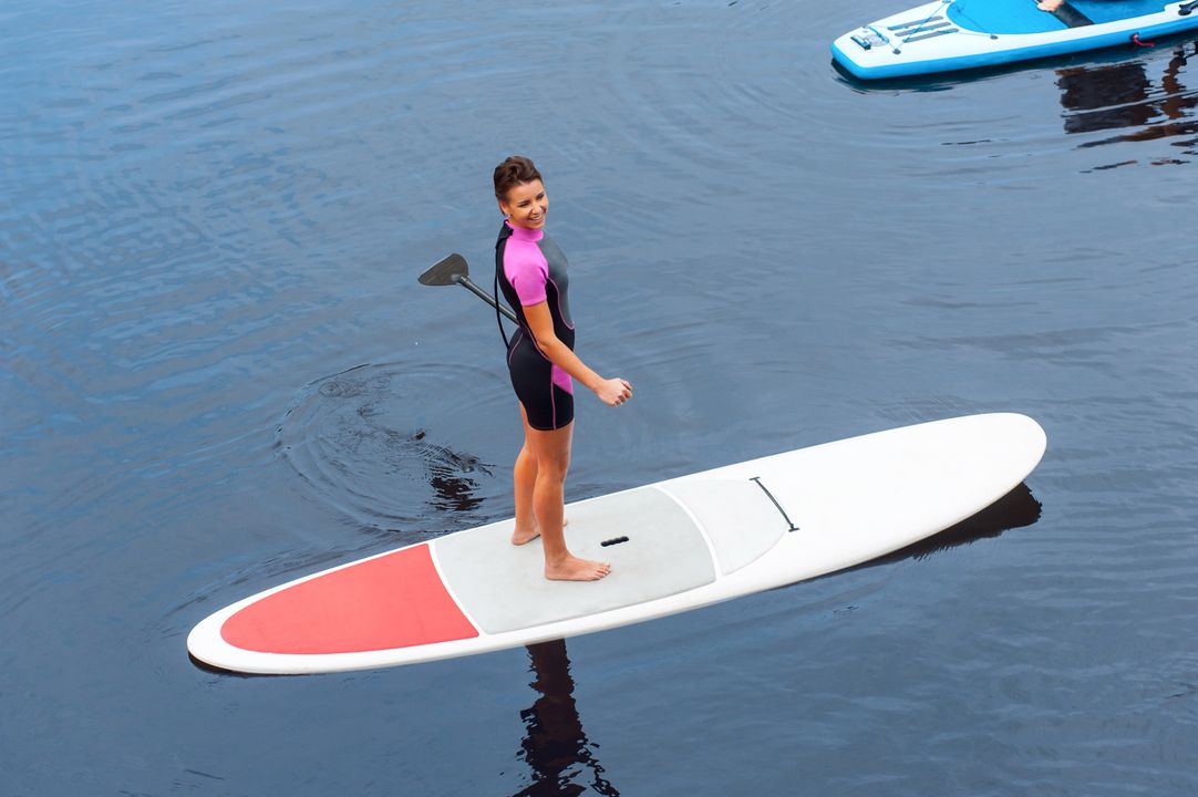 Standup paddleboarding / Suppen / Peddelsurfen