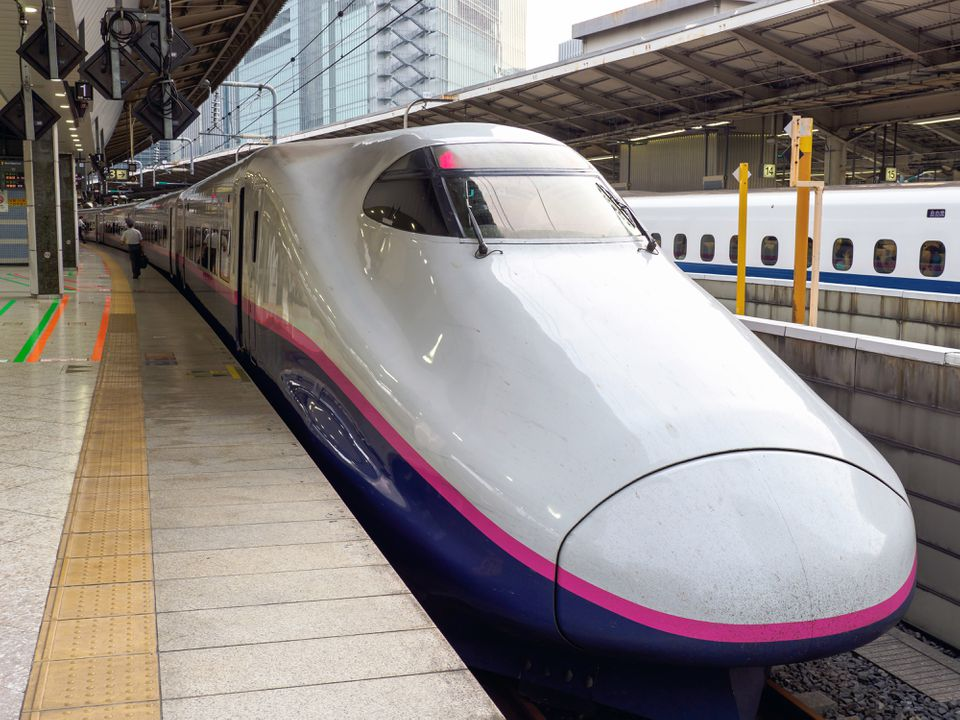 Kogeltrein / Bullet train / Shinkansen