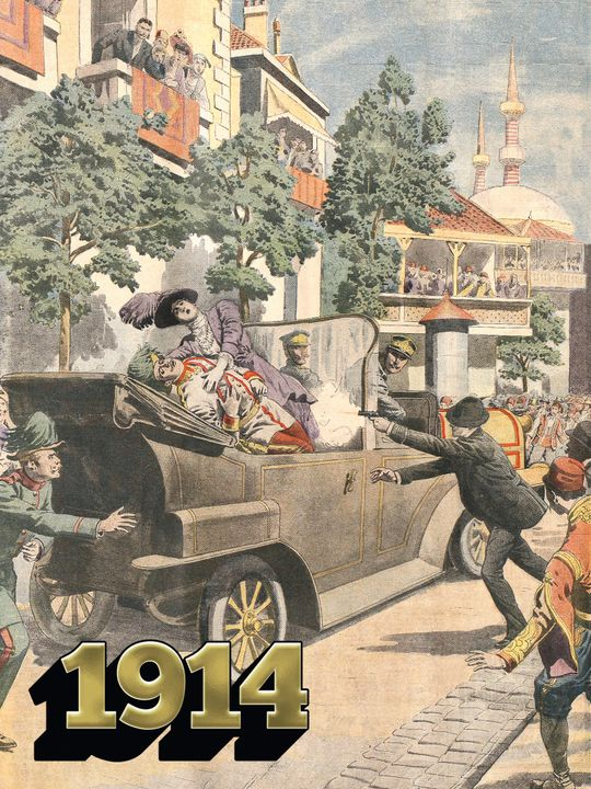 De moord op Frans Ferdinand / Start van WOI