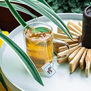 preparation panda tea