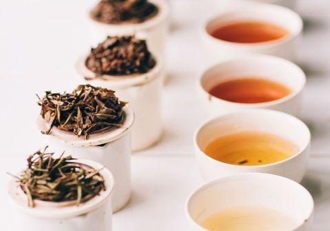 differente type de thé