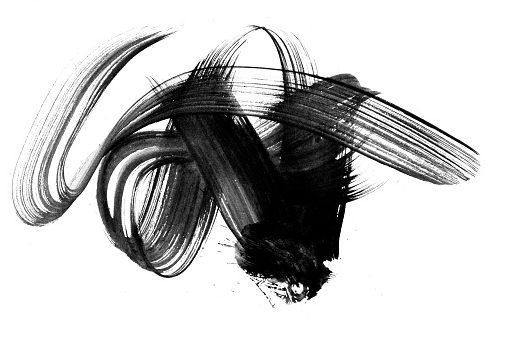peinture gonfolante noir
