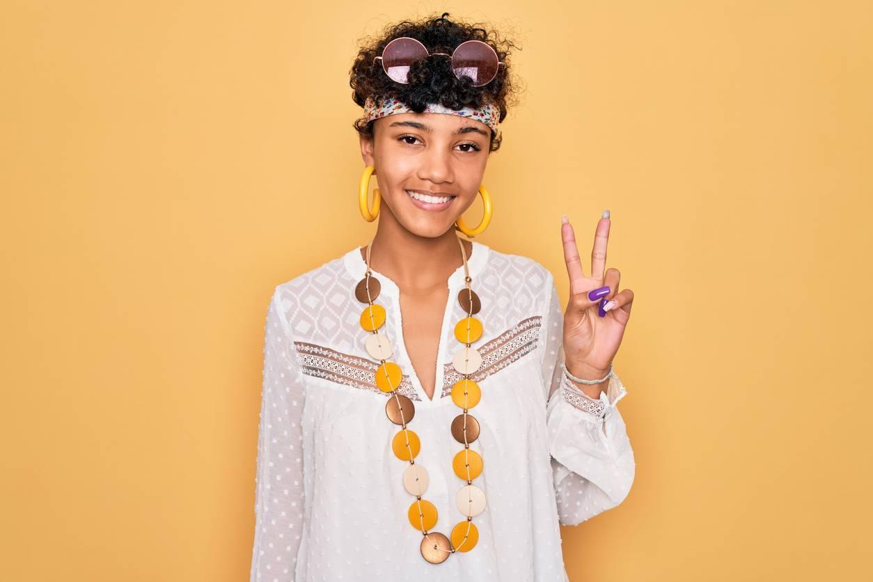 Soirée déguisée hippie