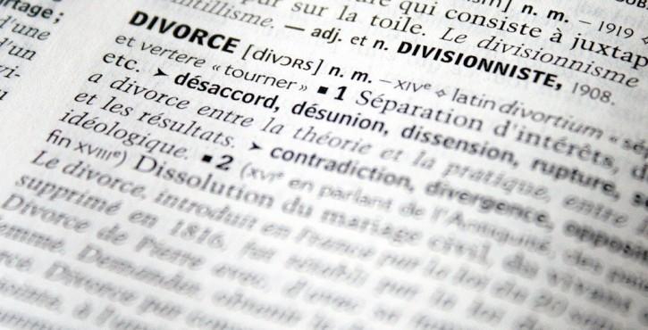 Le divorce par consentement mutuel.