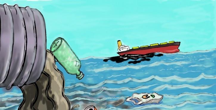 Pollution de l'air : Responsabilité pénale du Capitaine, seul maître à bord du navire...