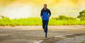 Flashé lors d'une course à pieds