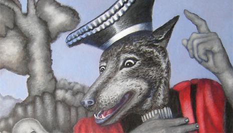 Jean de La Fontaine, le loup et l'agneau