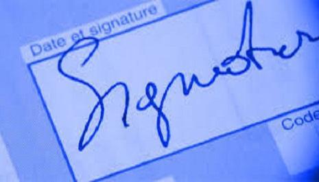 Signature électronique scannée en droit marocain