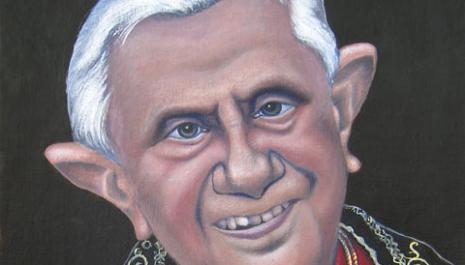 Le pape Benoît XVI ou l'infaillible innocence