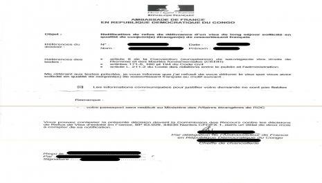 Refus de visa de long séjour : procédure précontentieuse