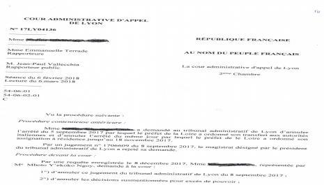 Annulation du jugement du TA pour défaut de convocation de la requérante