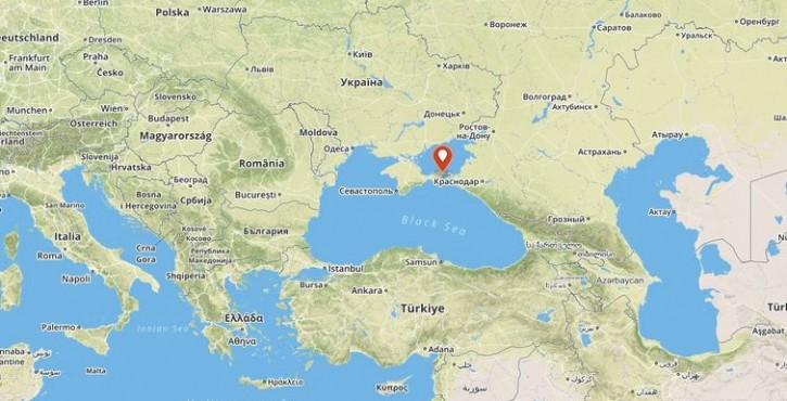 Le détroit de Kertch et l'accès à la mer d'Azov par la Crimée