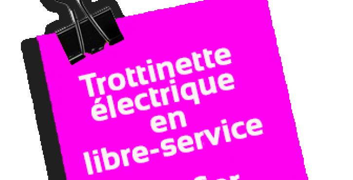 Conduire une trottinette électrique en libre service n'est pas sans risque