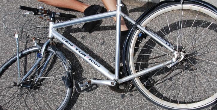 Indemnisation de l'accident de vélo.
