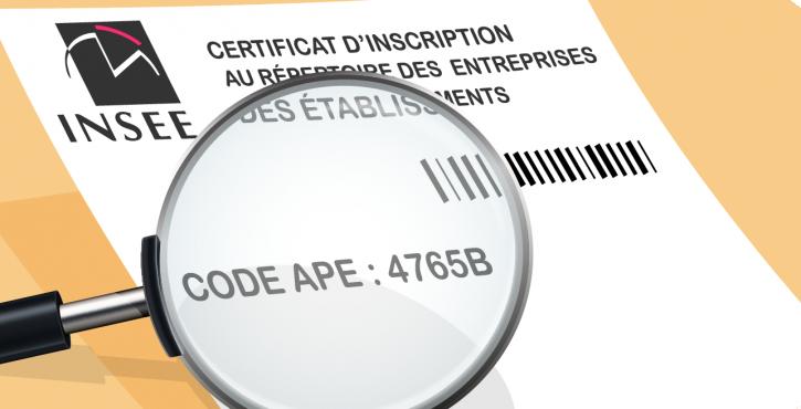 Qu'est ce que le code APE et à quoi sert-il ?