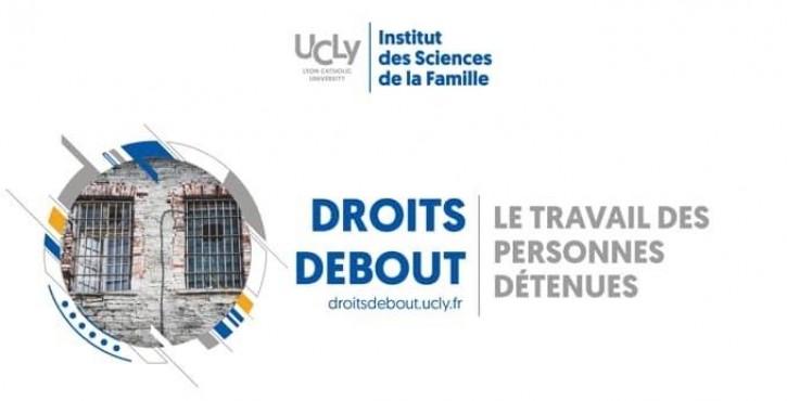 """Synthèse de la journée de formation """"le travail en prison"""", Certificat Universitaire """"Droits debout"""""""