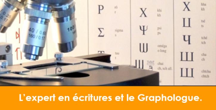 Différence entre l'expert en écritures et le graphologue.