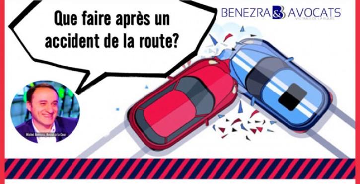 Que faire après un accident de la route ? Les premières démarches après un accident de la route.