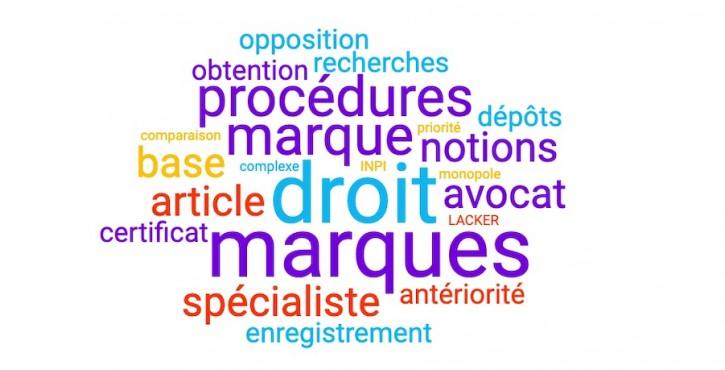 LES 7 NOTIONS CLES DU DROIT DES MARQUES