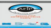 Application smartphone AFIP Détective Privé
