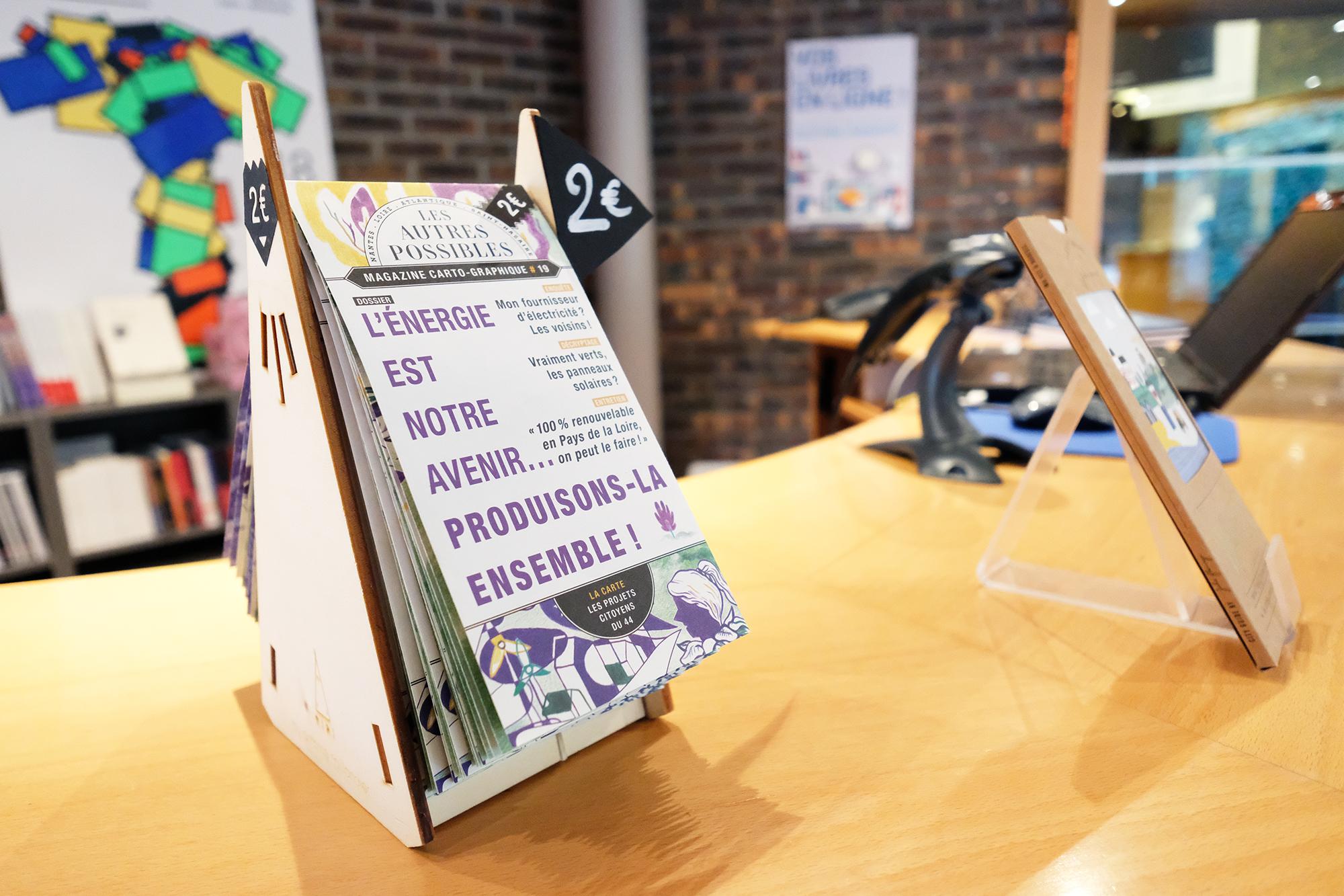 Le Grand T - Librairie - Carte projets citoyens