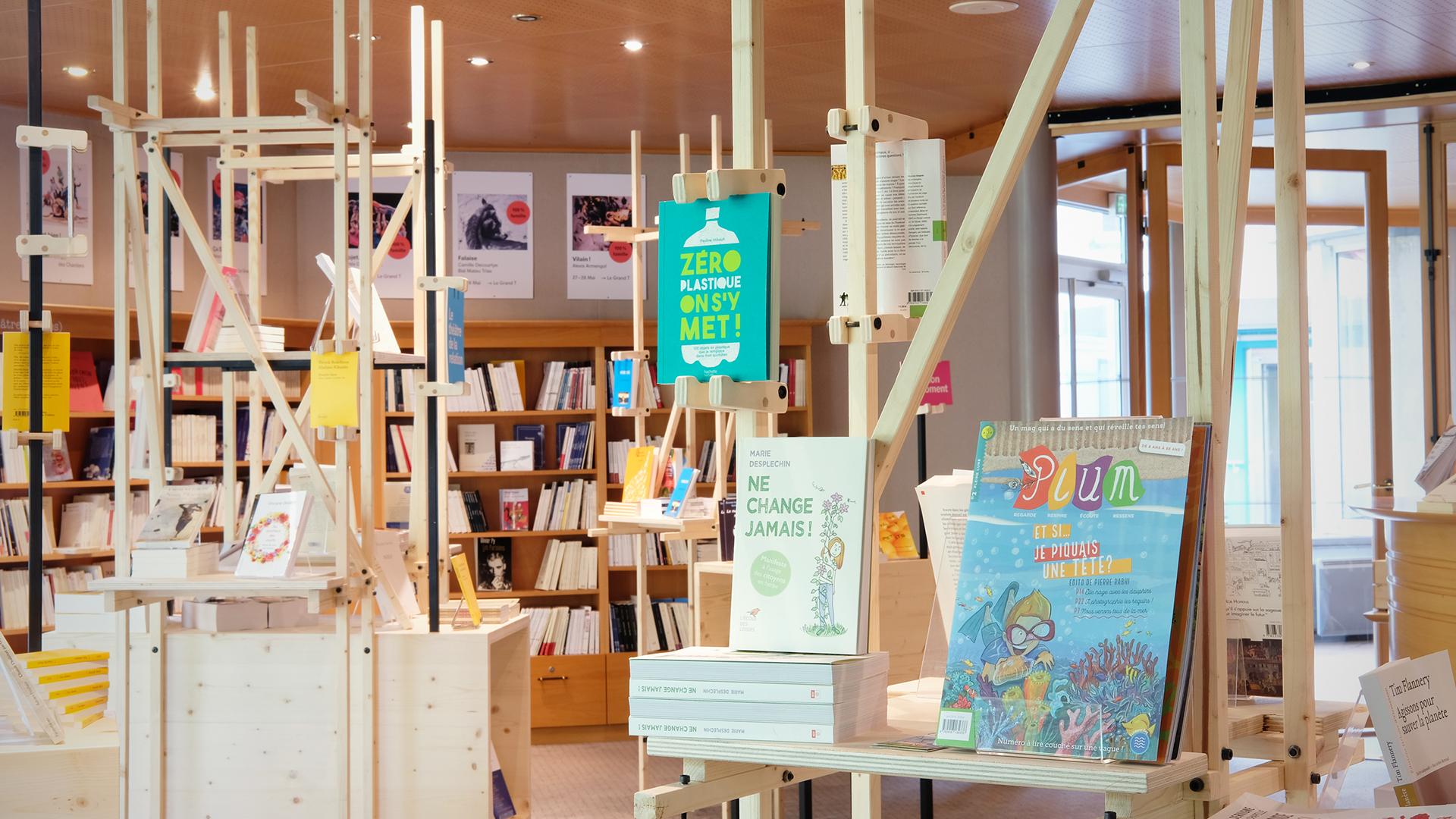 Le Grand T - Librairie