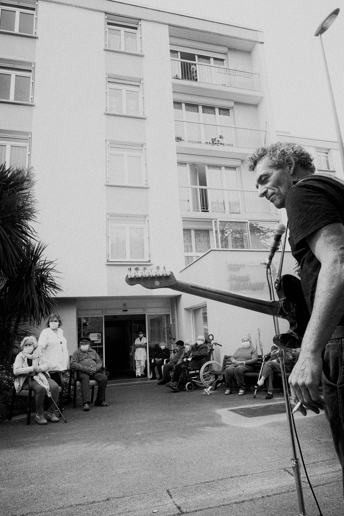 Sébastien Barrier - Artiste associé - Ehpad Paul Hernot