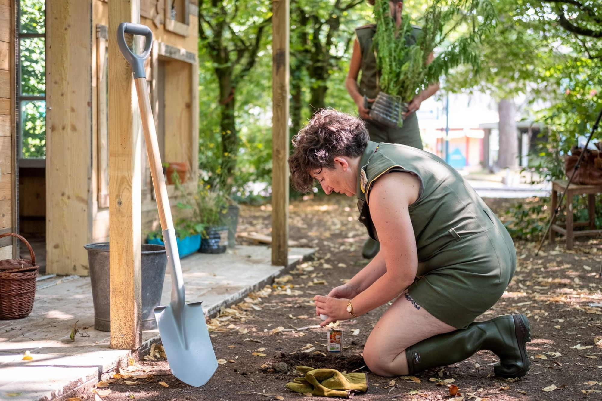 Le Grand T - L'Envol - Les jardiniers - Caroline Melon et Jonathan Macias