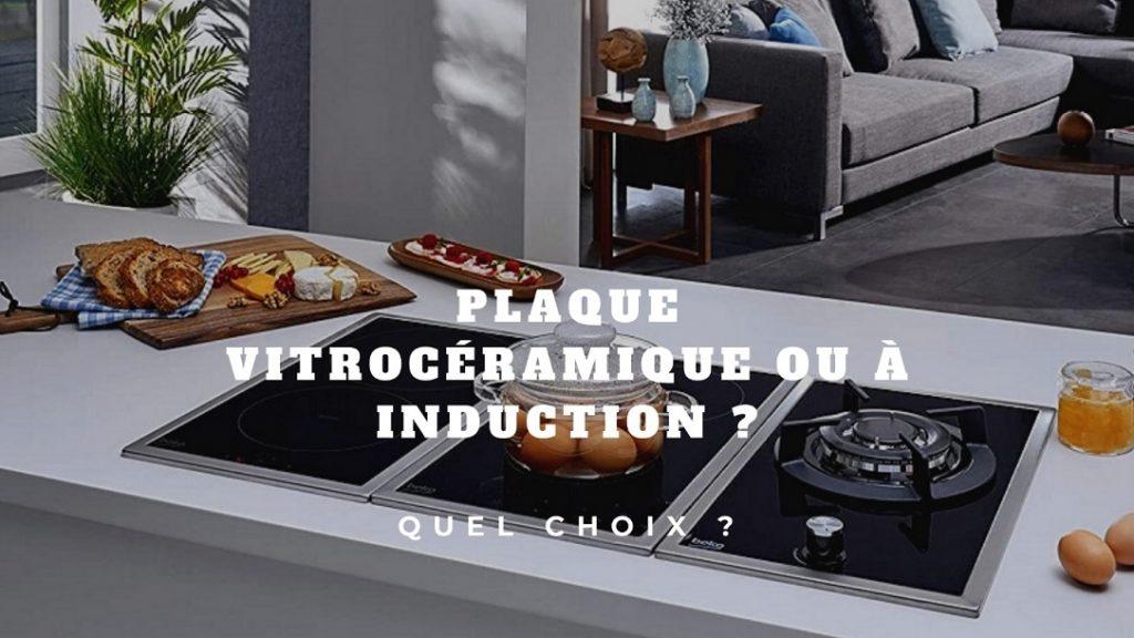 cuisine avec plaque de cuisson