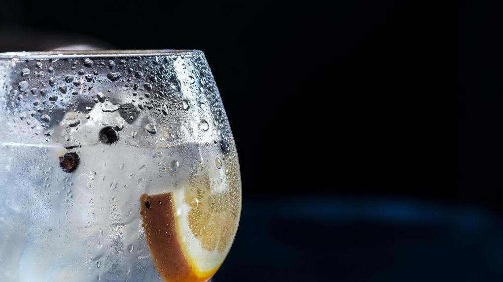 verre de gin