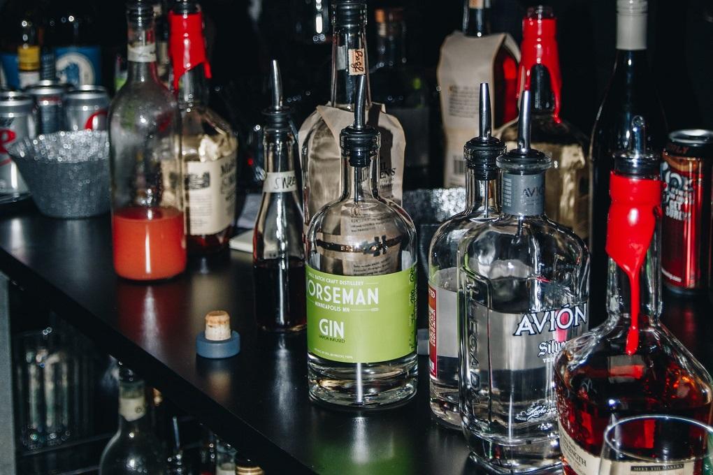 bouteille de gin