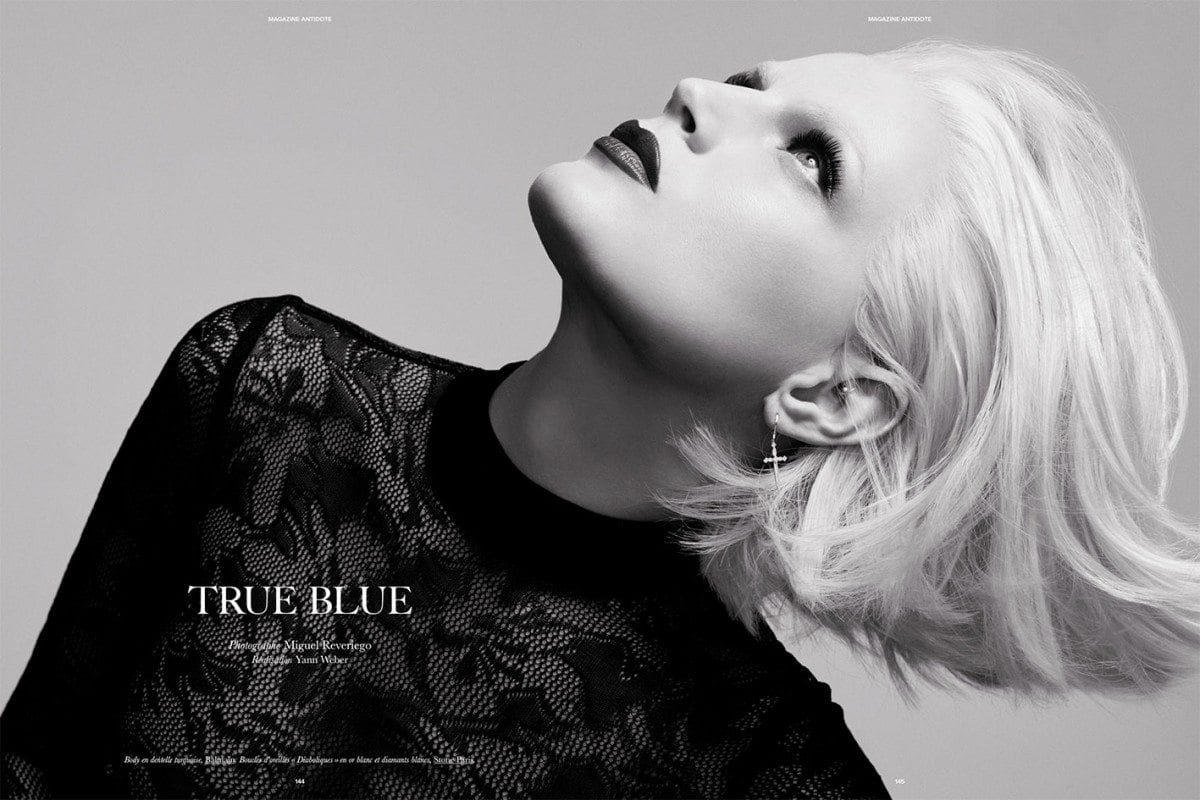 Serie Mode : « True Blue » Par Miguel Reveriego