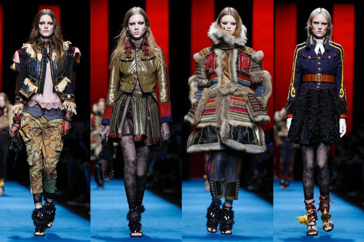 Dsquared2's Military Mash Up