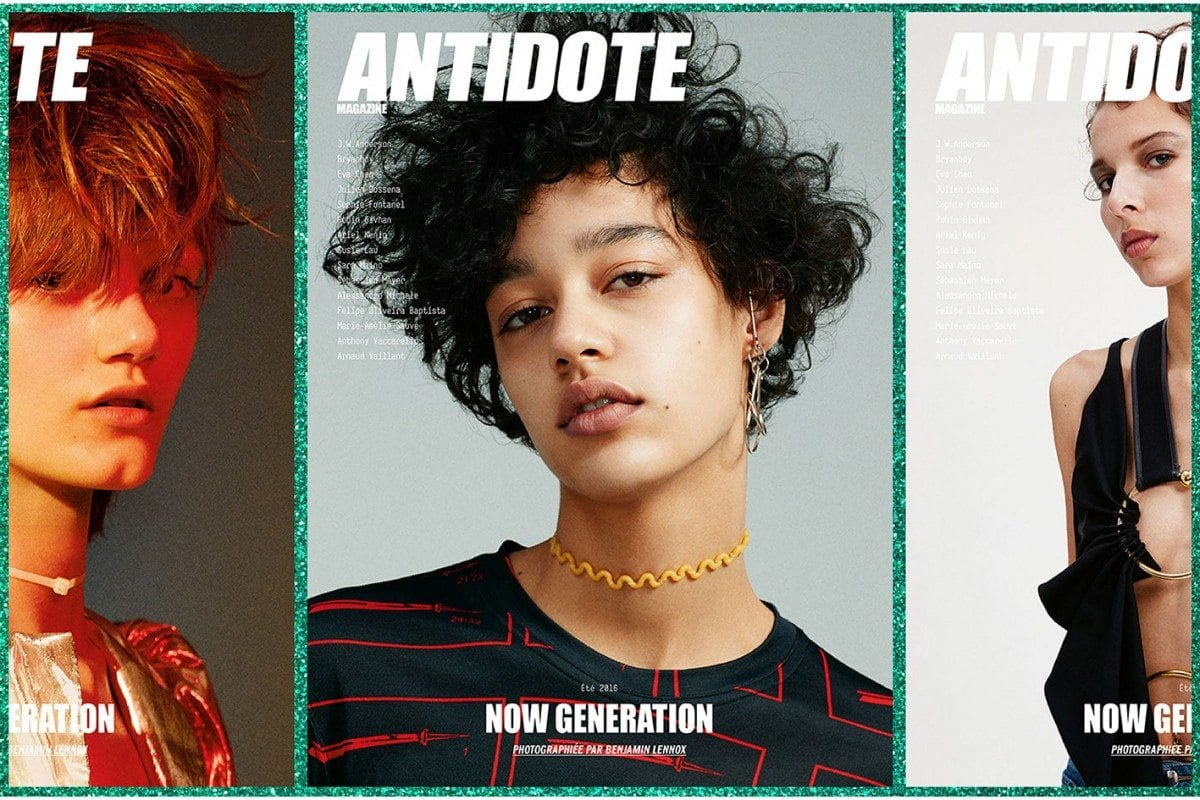 Antidote Presents « The Now Generation » Issue Summer 2016