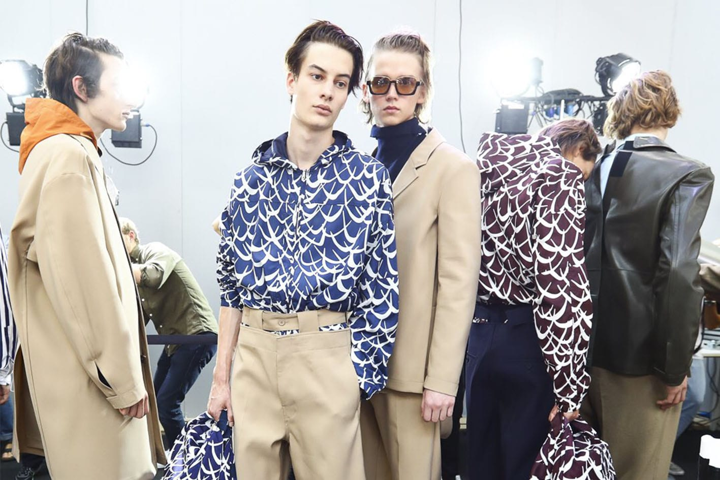 Milan Fashion Week SS17 : Marni Menswear Makes Its Mark