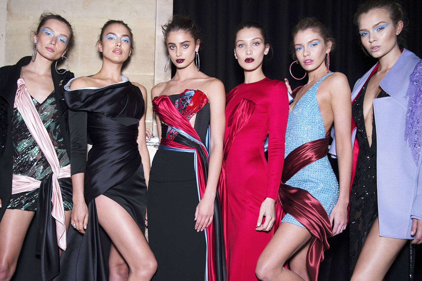 Atelier Versace Donatella Haute Couture Paris Winter 2016 Antidote Bella Hadid