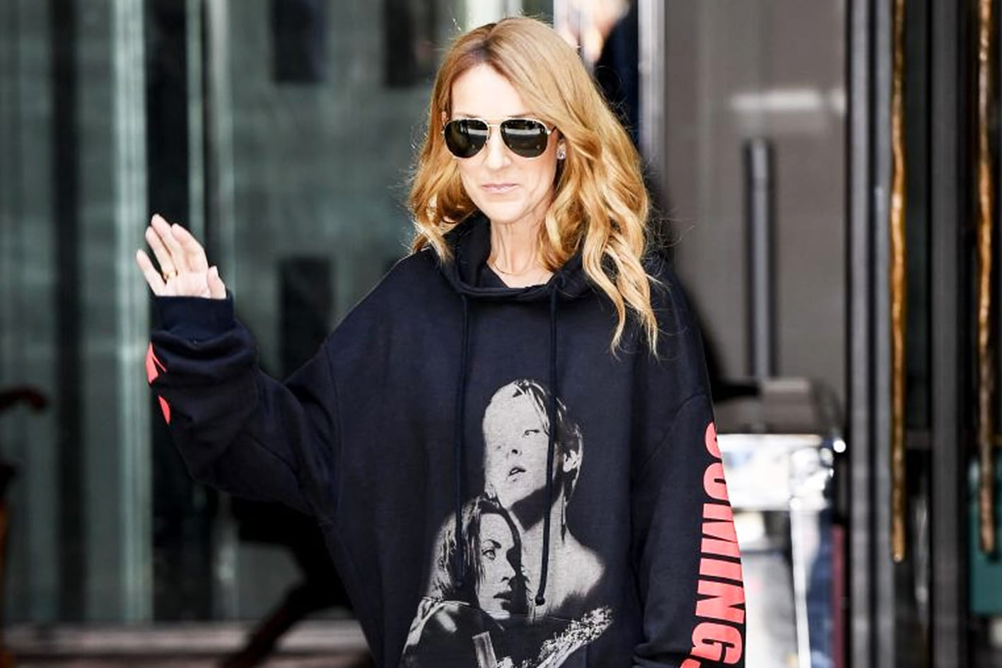 Celine Dion Vetements Hoodie Titanic Paris Couture Fashion Week Style Antidote