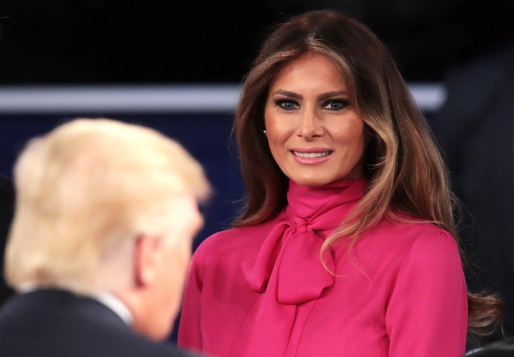 melania-trump-presidential-debate-gucci-pussy-bow-blouse-fashion-antidote