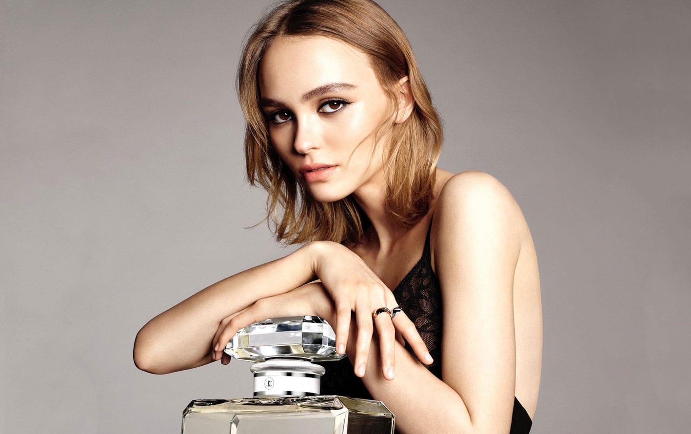 Lily Rose Depp Chanel N 5 Campaign Antidote